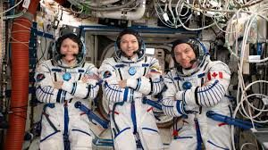 Astronauts Back To Earth After Spending 204 Days In Space